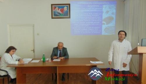 AMEA Zoologiya İnstitutunda Azərbaycanda qansoran ağcaqanadların mikrospori ...