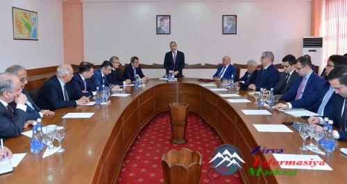 Təhsil naziri Bakı Mühəndislik Universitetində olub