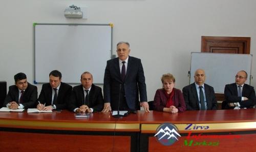 """AzTU tələbələrinin """"Ali məktəblərdə diaspor dərsləri"""" layihəsi çərçivəsində ..."""