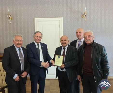 Həmkarımız Azərbaycan Mətbuat Şurasının xüsusi Diplomu ilə təltif olunub
