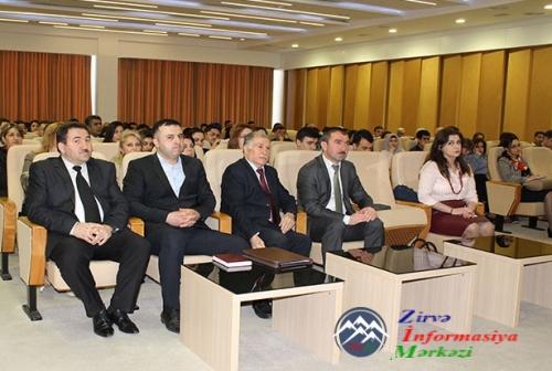 """AMEA-da """"Thomson Reuters"""" agentliyi tərəfindən maarifləndirici seminar keçirilib"""
