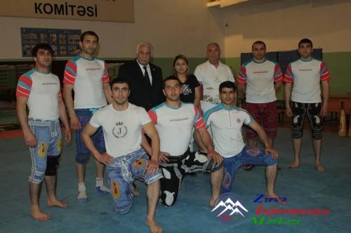 Zorxana Federasiyasının prezidenti İslam Oyunlarına hazırlıqdan danışdı - VİDEO