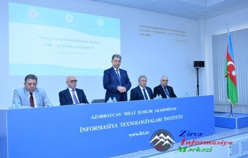 """Proqram mühəndisliyinin aktual elmi-praktiki problemləri"" I respublika konfransı keçirilib"
