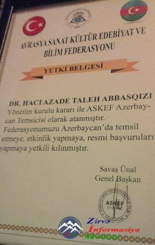 11-13 mayda İzmir-Çeşmədə ASKEFİN sayca 11-ci toplantısı baş tutdu,uğurlar...