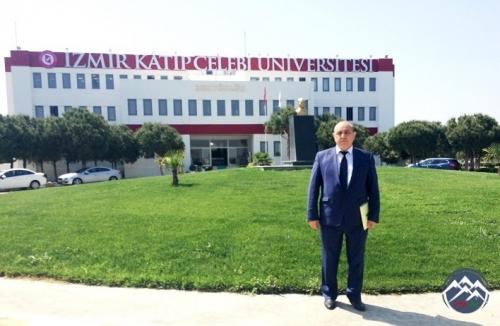 AzTU-nun dosenti Əyyub Kərimov Türkiyənin Katib Çələbi Universitetində işgü ...