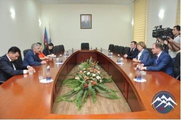 YAP-ın Sədr müavini – icra katibi Əli Əhmədov Moldova Respublikası Sosialis ...