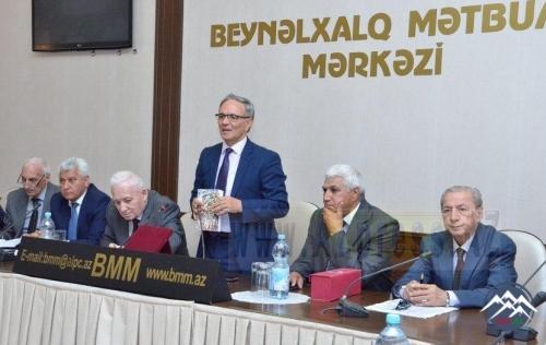 """Əlipənah Bayramovun 70 illik yubileyi və """"Həyatım – mühitim"""" adlı kitabının təqdimat mərasimi keçirilib"""