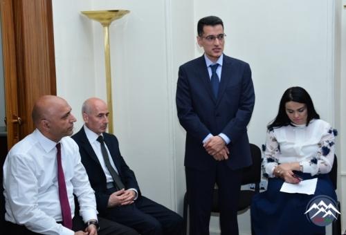 AMEA-nın Humanitar Elmlər Bölməsinin növbəti Büro iclası keçirilib