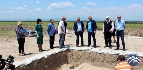 Gürcüstanda azərbaycanlıların yaşadığı ərazidə arxeoloji qazıntılar sona ça ...