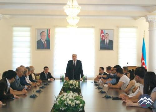 Dövlət İmtahan Mərkəzinin əməkdaşları AzTU-nun tələbələri ilə görüşüblər