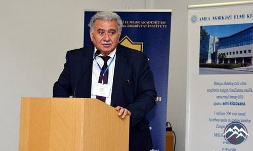 AMEA-da İmadəddin Nəsiminin vəfatının 600-cü ildönümü qeyd olunub