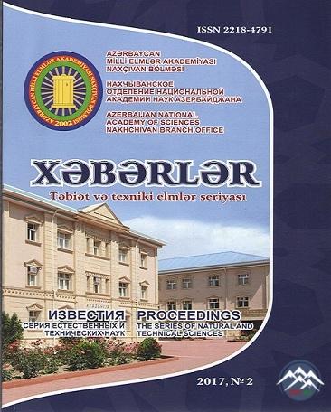 """AMEA Naxçıvan Bölməsinin """"Xəbərlər"""" jurnalının növbəti sayı işıq üzü görüb"""