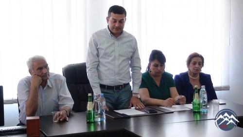 Gürcüstan parlamentinin mojaritar deputatı Savalan Mirzəyev Azərbaycandilli ...