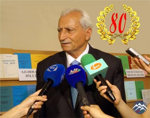 Professor Mədəd Çobanovun 80 illik yubileyinə həsr olunan elmi sessiya keçirilib