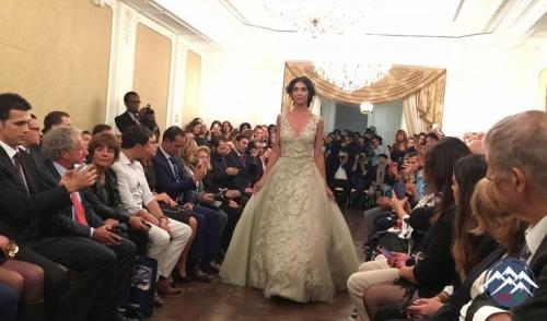 Parisdə azərbaycanlı modelyerin kolleksiyası nümayiş etdirilib
