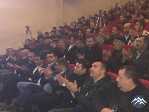 Marneulidə Aşıq Kamandar Əfəndiyevin 85 illik yubileyinə həsr olunan konsert keçirilib