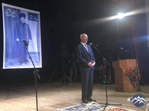 Marneulidə Aşıq Kamandar Əfəndiyevin 85 illik yubileyinə həsr olunan konser ...