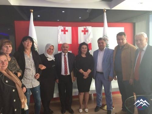 """Rustavidə """"Salam Mədəni Xeyriyyə Mərkəzi""""nin hesabat konfransı keçirilib"""