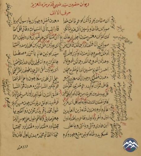 İmadəddin Nəsiminin iki əlyazma divanının surəti əldə edilib