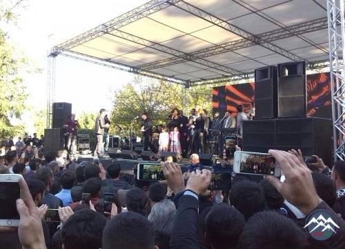 Marneulidə Temur Abasova dəstək konserti keçirilib
