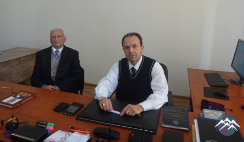 """""""Dərbənd"""" Xeyriyyə İctimai Birliyinin sədri Nurulla Əliyev professor Mədəd  ..."""