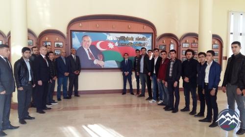 """AzTU-nun müəllim və tələbələri """"20 Oktyabr Energetiklər günü""""nə həsr olunmu ..."""