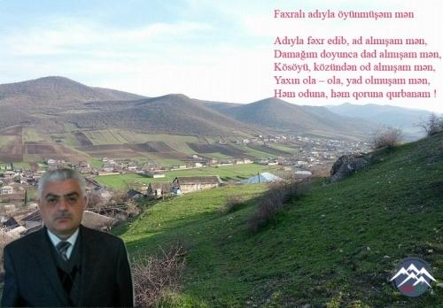 """Hüseyn FAXRALI: """"Mənim eşqim bir bulaqdı..."""""""