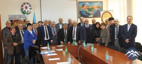 """""""DANIŞAN QAYALAR"""" filminin təqdimatı olub"""