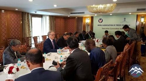 MŞ sədri Hindistanda keçirilən  beynəlxaq toplantıda iştirak edib
