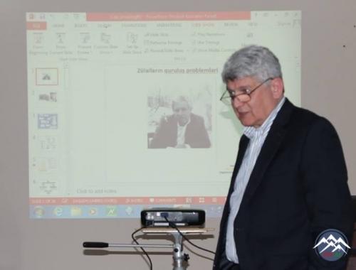 ABŞ-da çalışan professor Faiq Musayev AMEA Molekulyar Biologiya və Biotexnologiyalar İnstitutunda olub