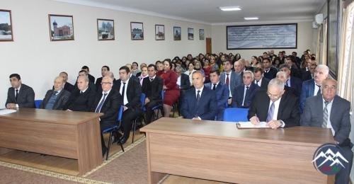 AMEA Naxçıvan Bölməsinin elmi-tədqiqat institutlarının hesabatları dinlənilib