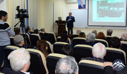 Akademik Akif Hacıyevin 80 illik yubileyinə həsr olunmuş beynəlxalq elmi konfrans keçirilib