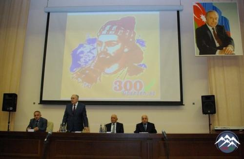 AzTU-da görkəmli Azərbaycan şairi Molla Pənah Vaqifin  300 illik yubileyi   ...