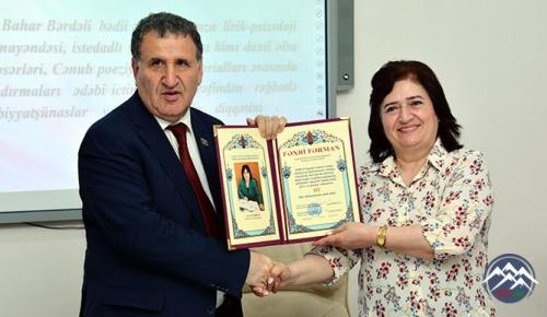 Bahar Bərdəlinin (Bahar Məmmədova) bədii, tənqidi və elmi fəaliyyəti