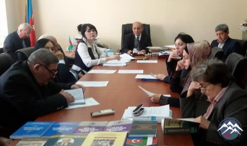 Dilçilik İnstitutunun elmi hesabatı dinlənilib