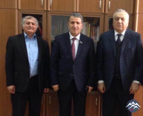 AMEA-nın vitse-prezidenti Tbilisidə akademik Elizbar Cavelidzenin 80 illik  ...