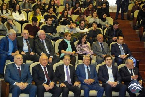 AzTU-da Dünya Azərbaycanlılarının Həmrəylik Günü və Yeni il münasibətilə tədbir keçirilib