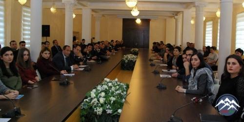 AzTU-nun rektoru imtahanlarda iştirak edəcək koordinator və tyutorlarla görüşüb
