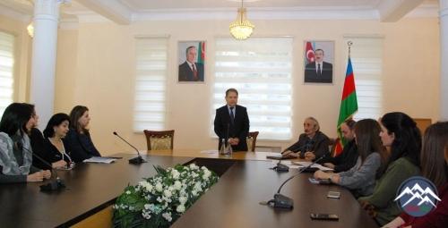 AzTU-nun rektoru imtahanlarda iştirak edəcək koordinator və tyutorlarla gör ...