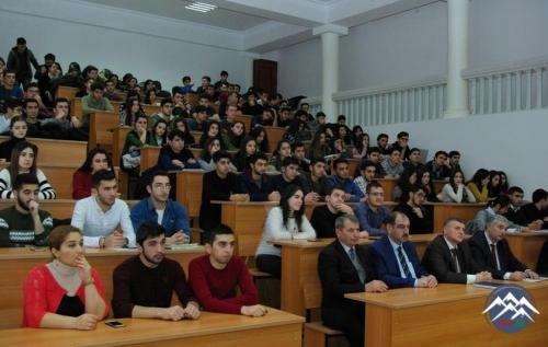 """AzTU-da """"CanSat Azərbaycan 2018"""" model peyk müsabiqəsinin təqdimatı keçirilib"""