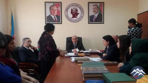 AMEA Nəsimi adına Dilçilik İnstitutunda 20 Yanvar faciəsinin 28-ci ildönümü keçirilib