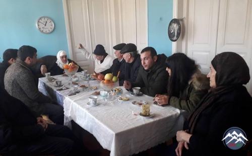 GAK 20 Yanvar Şəhidi İlqar Əhmədovun məzarını ziyarət edib