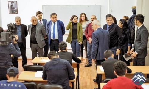 Qərbi Kaspi Universitetində imtahanlarla bağlı mediatur təşkil edilib