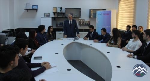 """AzTU-da """"Elmin sürət qatarı"""" layihəsinin təqdimatı olub"""