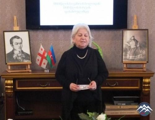 Tiflisdə gürcü şairi Nikoloz Barataşvilinin anadan olmasının 200 illiyinə həsr olunan tədbir keçirilib