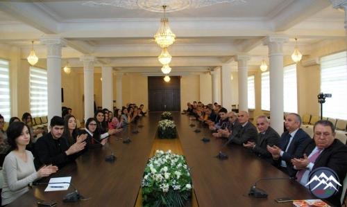 """AzTU-nun professoru Beynəlxalq Türk Mədəniyyəti (""""Türksoy"""") təşkilatının diplom və medalına layiq görülüb"""