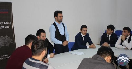 """Gənclər Fondunun 10-cu Qrant Müsabiqəsinin """"Unudulmaz şəhidlər"""" layihəsi"""