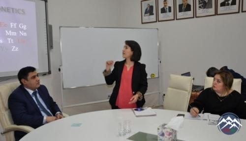 Nizami Gəncəvi adına Ədəbiyyat İnstitutunda İngilis dili kursları