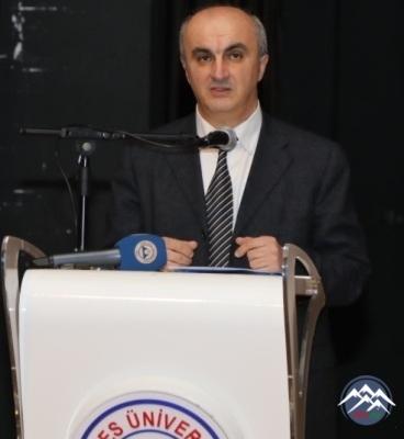 Professorumuz Asif Hacıyev Türkiyənin Erciyəs Universitetində səfərdə olub