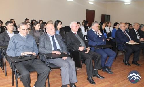 AMEA-nın müxbir üzvü İlham Şahmuradovun 60 illik yubileyi keçirilib